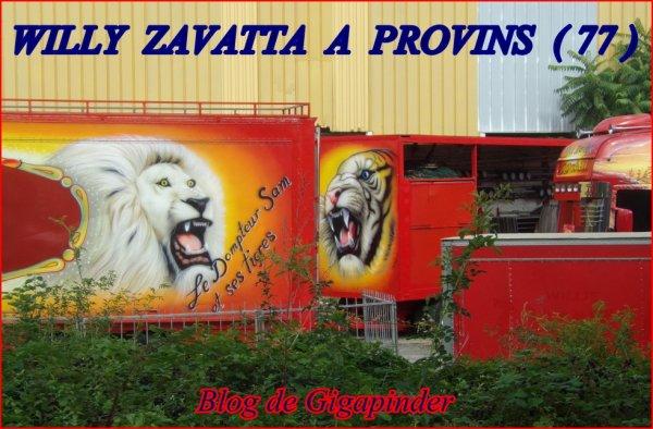 WILLIE ZAVATTA A PROVINS   ...JUILLET 2017