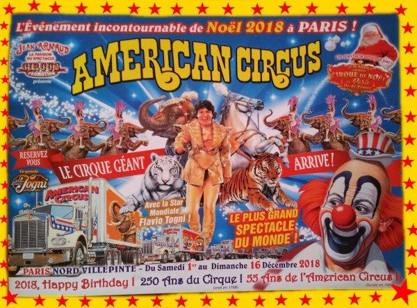cirques paris noel 2018 AMERICAN CIRCUS A PARIS POUR NOEL !!!   Blog de gigapinder cirques paris noel 2018