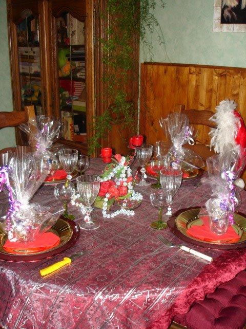 une jolie table :)