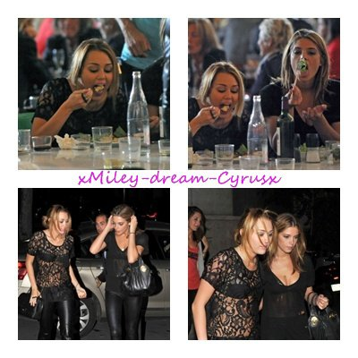 05.09.10 Miley et Ashley Greene au restaurant