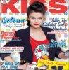 Selena fait la couverture ce mois-ci du magasine Irlandais Kiss.  Magnifique.