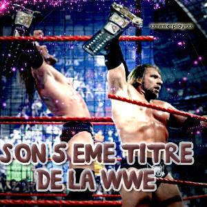 Triple H et ses titres de Champion du monde