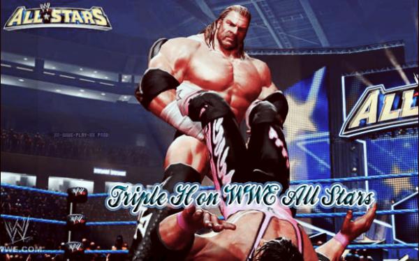 Triple H on WWE All Stars