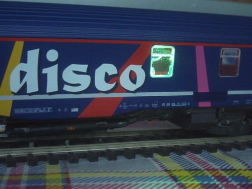 SNCB NMBS BAR DISCO SR2 LS Models MP3 + Leds Ambiance HO ( PHOTO 11 )