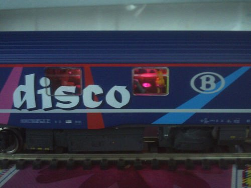 SNCB NMBS BAR DISCO SR2 LS Models MP3 + Leds Ambiance HO ( PHOTO 8 )