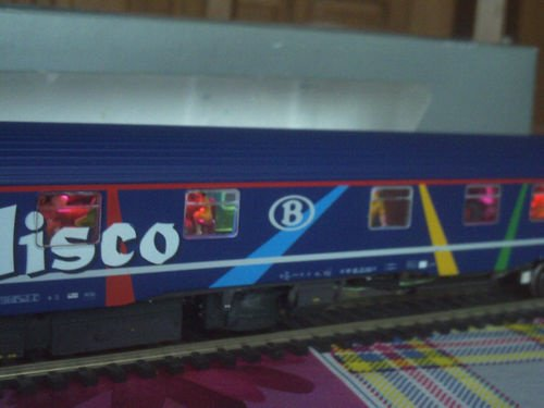 SNCB NMBS BAR DISCO SR2 LS Models MP3 + Leds Ambiance HO ( PHOTO 6 )