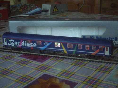 SNCB NMBS BAR DISCO SR2 LS Models MP3 + Leds Ambiance HO ( PHOTO 5 )