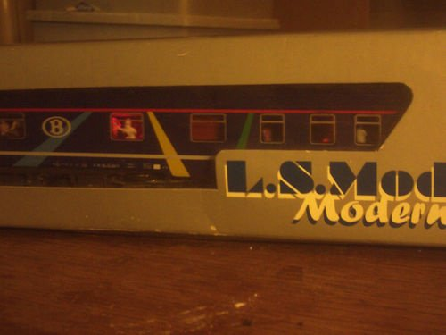 SNCB NMBS BAR DISCO SR2 LS Models MP3 + Leds Ambiance HO ( PHOTO 4 )