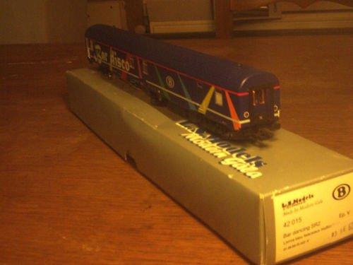 SNCB NMBS BAR DISCO SR2 LS Models MP3 + Leds Ambiance HO ( PHOTO 2 )