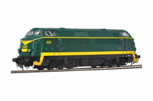 notre prochain achat ... une locomotive diesel roco série 60 en livrée verte - jaune