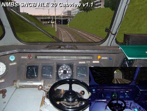 cabine de ma locomotive série 20 HLE