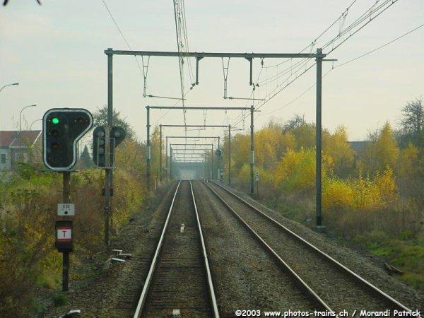 infrastructure signalistion sur le réseau Belge