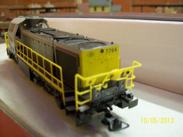 notre superbe locotracteur Mehano Prestige série 77