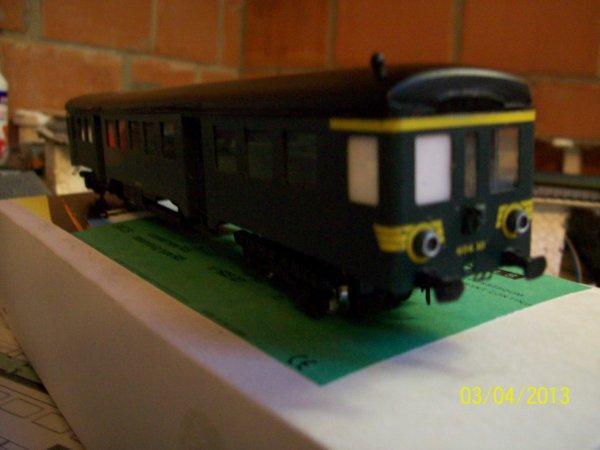 Notre SUPERBE autorail Train Tram de Messing Modellbouw