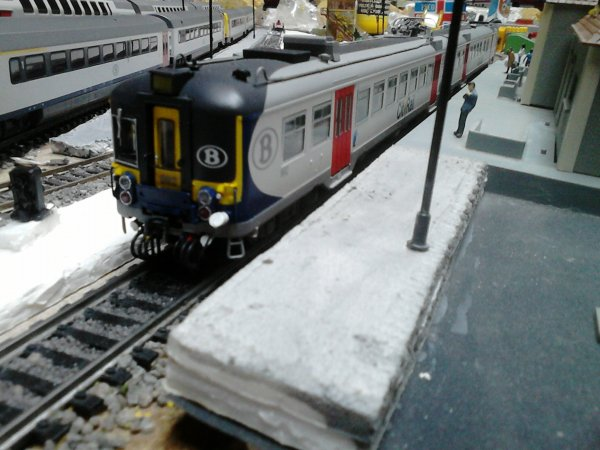 nôtre CityRail entre en gare!