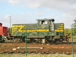 """locotracteur """"LC"""" vert - jaune"""