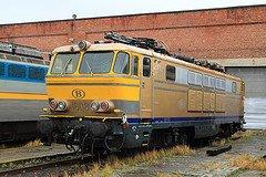 """Saint-Ghislain : """"musée du train"""" avec une série 26 en expo"""