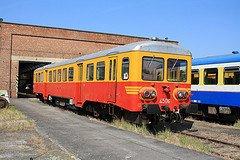 """Saint-Ghislain : """"musée du train"""" avec un autorail série 43 en expo"""