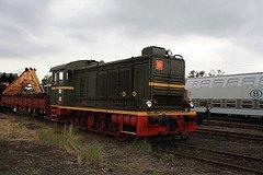 """Saint-Ghislain : """"musée du train"""" avec un locotracteur en expo"""