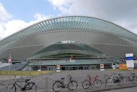 la nouvelle gare de Liège ( 3ème plus belle au MONDE ) !!!