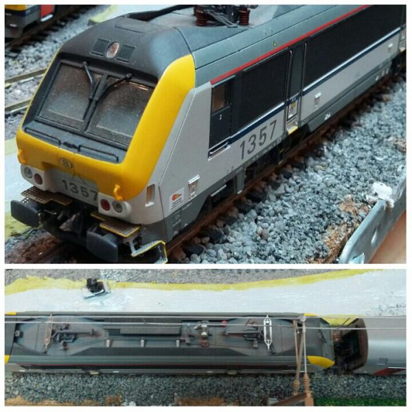 Notre locomotive Ls Models SNCB série 13 (1357)