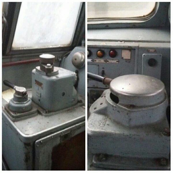 Locomotive diesel série 51 en livrée jaune / verte