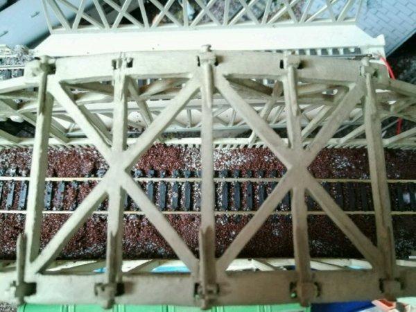 Mon pont entièrement en bois et fais à la main