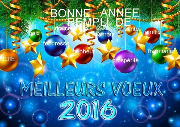 BNE ANNEE SANTEE JOIE PAIX BNHEUR CHALEUR ET QUE CETTE ANNEE SOIT MEILLEURE ON PRIE PR CA