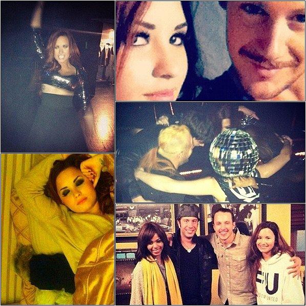 03/12/11 : Demi a effectuer son concert à Chicago