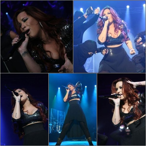 08/12/11 : Demi a effectuer une belle prestation à Kiss 108 Jingle Ball ; Boston Massachusetts