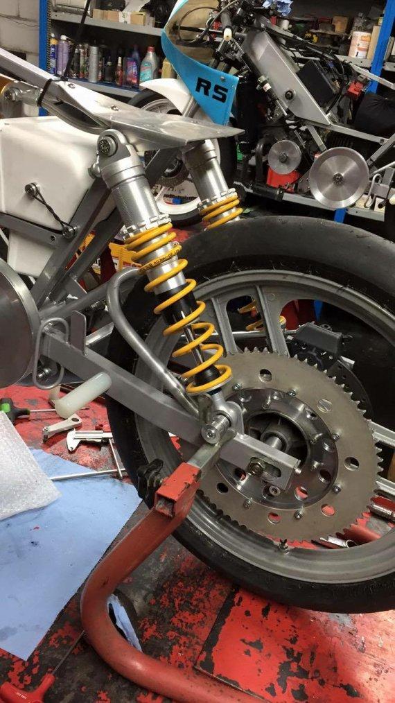 Voici le remontage de la Bidalot RS #44 2016 Ancienne machine de Yohan Chartrain