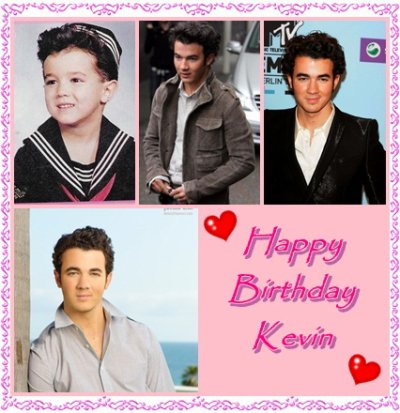 happy Birthday Kevin <3