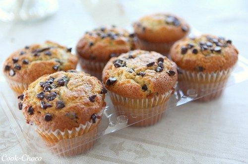 #4 ; Muffins Aux Pépites De Chocolat.