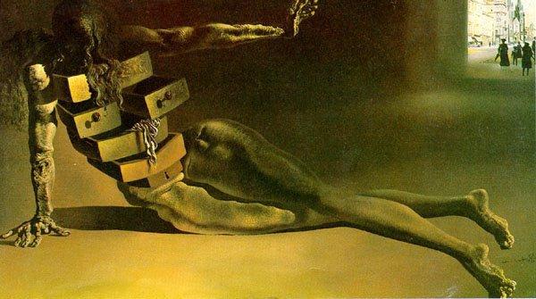 « Il a toujours été les choses que j'ai trouvé dans les tiroirs qui étaient enfermés et a pris grand soin d'ouvrir, qui ont nourri mon âme. »« Il a toujours été les choses que j'ai trouvé dans les tiroirs qui étaient enfermés et a pris grand soin d'ouvrir, qui ont nourri mon âme. »Salvador Dali