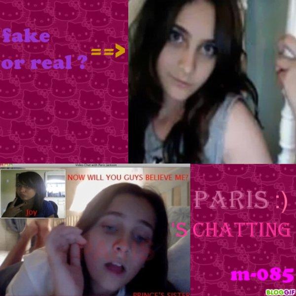~ photos personnelles >> cam picture de paris   ◘ posté le : 4/12/10        *Fake ou vrai *?
