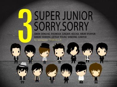 3rd album :    Sorry Sorry