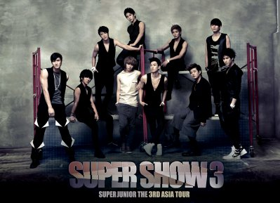 Super Junior, The 3rd ASIA TOUR : Super Show 3