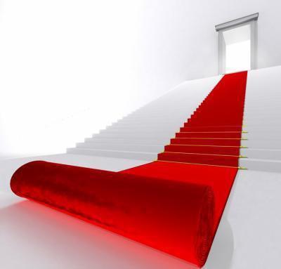 suivez le chemin du tapi rouge vou seré pa désu