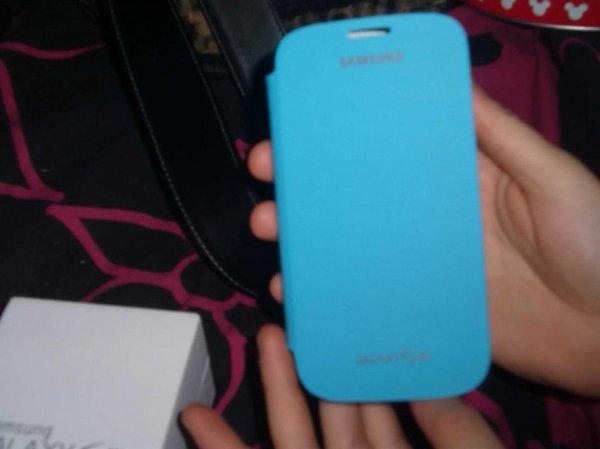 Moi et mon téléphone le Samsung Galaxy s3