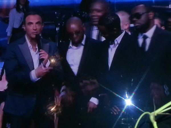 nos chouchou au nrj 2013 qui on reçu leurs trophée