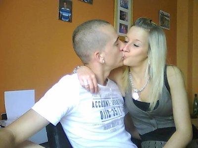 Melle. Elodie & Mr. Geoffrey ♥   26.01.09 Une date inoublialeU N                              A M O U R                              D ' H O M M E