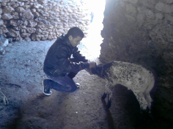 moi avec ma belle vache