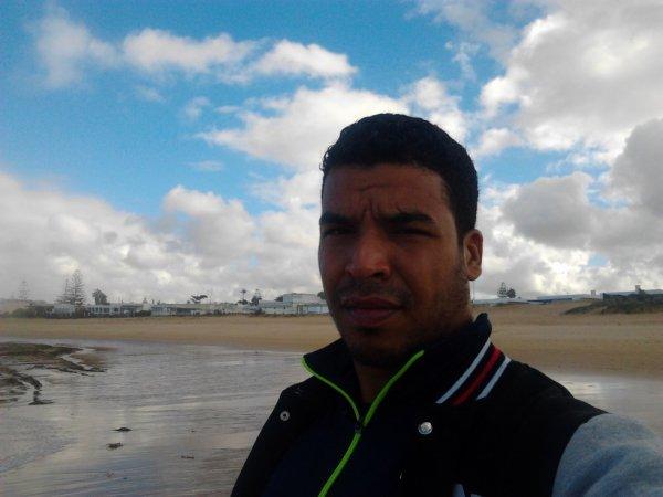 moi au plage de harhora