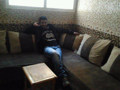 moi dans le salon