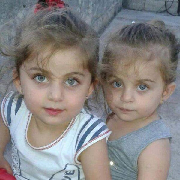 أجمل فتاتين سوريتين يا ربي تحميهم