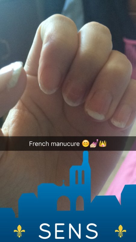 Snap de ma french manucure