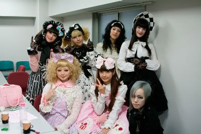 Japanese and French Lolitas.
