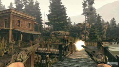Test Call of Juarez: Bound in Blood By Pain