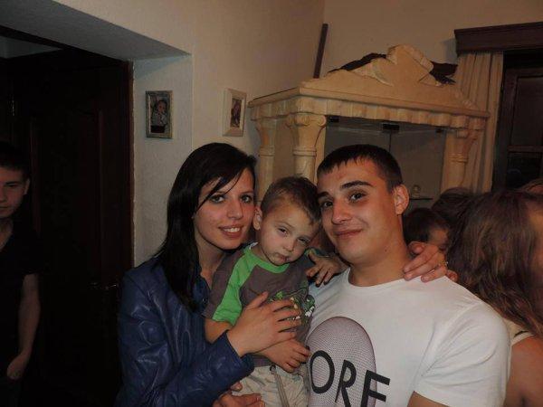 portrait de famille mon homme et sont fils