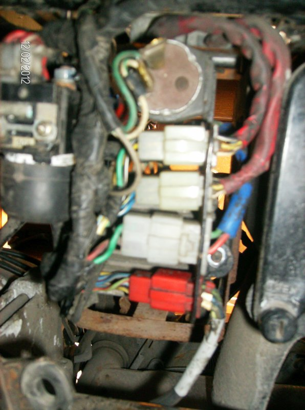 Electricité après réparation et remise en place